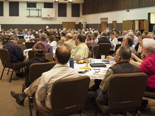 North Santiam Economic Vitality Summit drew a healthy turnout and enthusiastic participation in Santiam Canyon last spring. One spinoff event is this spring's Rural Tourism Studio through Travel Oregon.