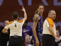 Diana Taurasi, Brittney Griner ejected as Mercury lose to Liberty