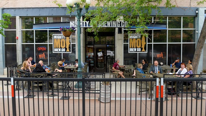 Mighty Mo Brewing in Great Falls.