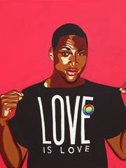 """""""Love Is Love,"""" by David-Andersson."""