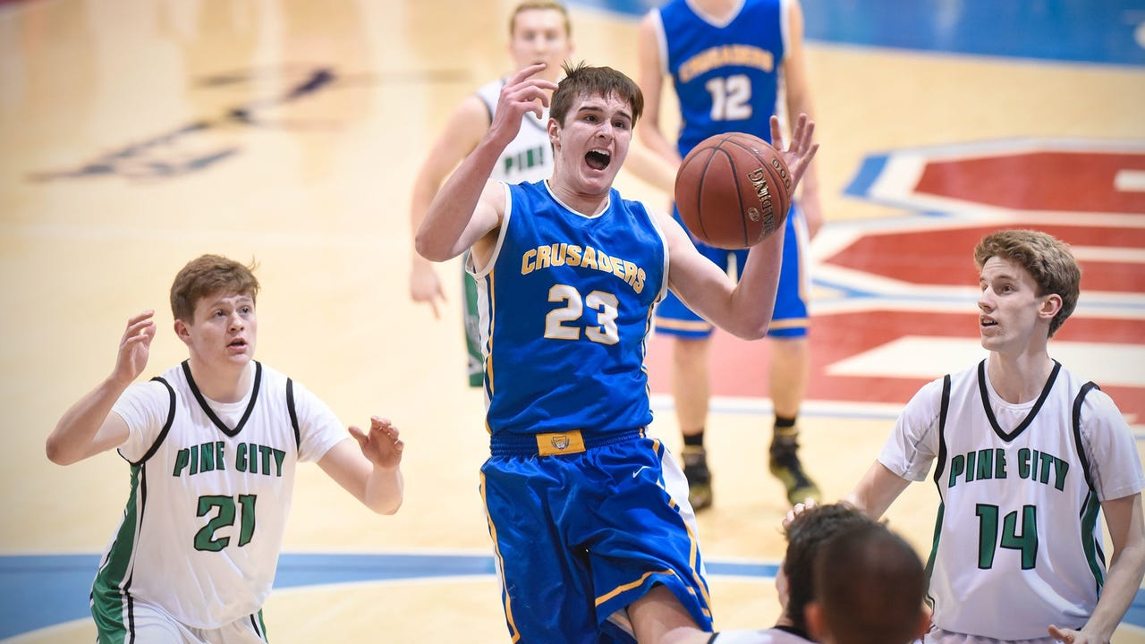 Cathedral senior Michael Schaefer, an Augustana recruit, talks about the upcoming season.