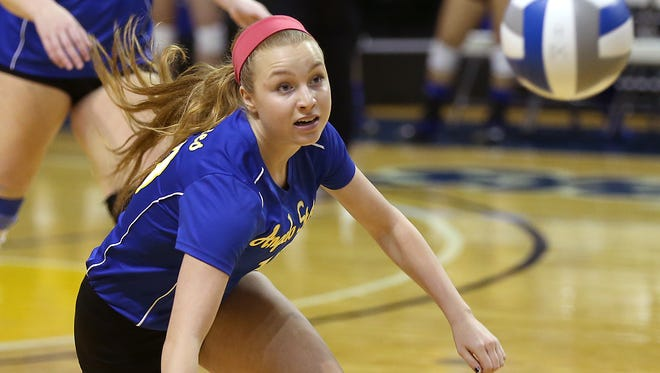 Angelo State's Meghan Parker and the Rambelles will host Midland College in a scrimmage at 2 p.m. Saturday, Aug. 18, 2017 at the Junell Center.