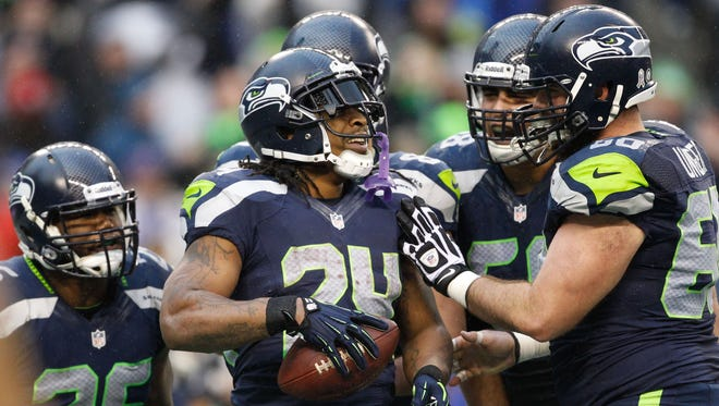 RB Marshawn Lynch and the Seahawks return to action Thursday night vs. the Packers.