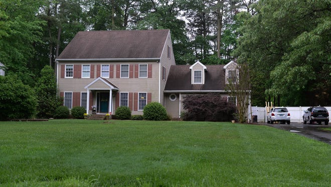 The ATF raided a home at 1116 Resden Run in Salisbury, Md. on Thursday, May 17, 2018.