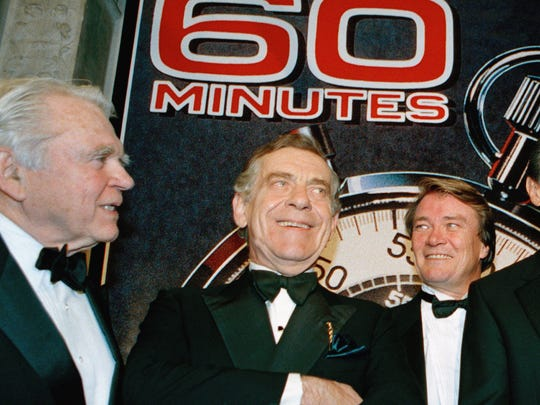 """In this Nov. 10, 1993, file photo, the """"60 Minutes"""""""