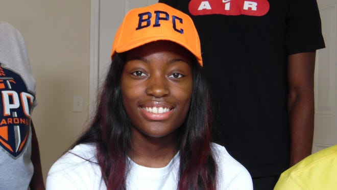 Madison Evans of Beach signed to play basketball at Brewton-Parker College on Thursday, June 4.