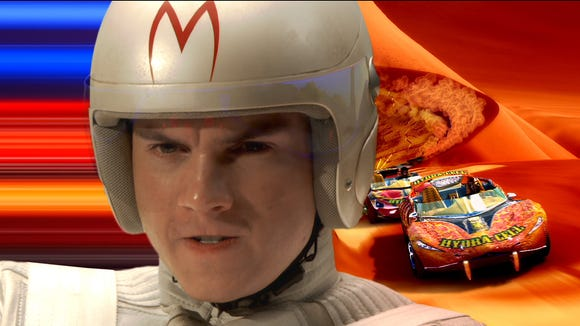 "Emile Hirsch was the title character in ""Speed Racer,"""
