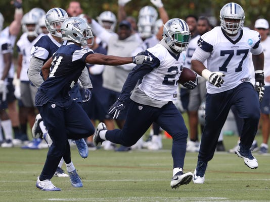 NFL: Dallas Cowboys-Minicamp