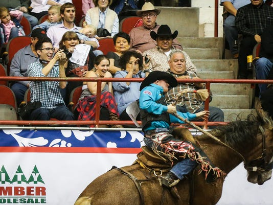 The 85th annual San Angelo Stock Show & Rodeo: 4th performance