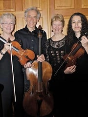 The Aurelia Piano Quartet perform Sunday at the Reformed Church in Poughkeepsie.
