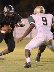 South Side's Tariq Robinson carries the ball against