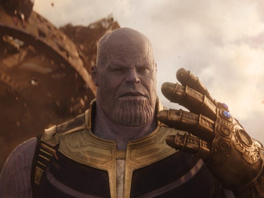 Thanos (Josh Brolin) has two Infinity Stones in his