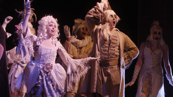 """Walter Panas High School was the first in the Lower Hudson Valley to stage """"The Addams Family,"""" which was the most-popular high-school musical in the U.S. last year. Four schools will stage it in the Lower Hudson Valley this year: Dobbs Ferry, Harrison, Iona Prep and Ramapo."""