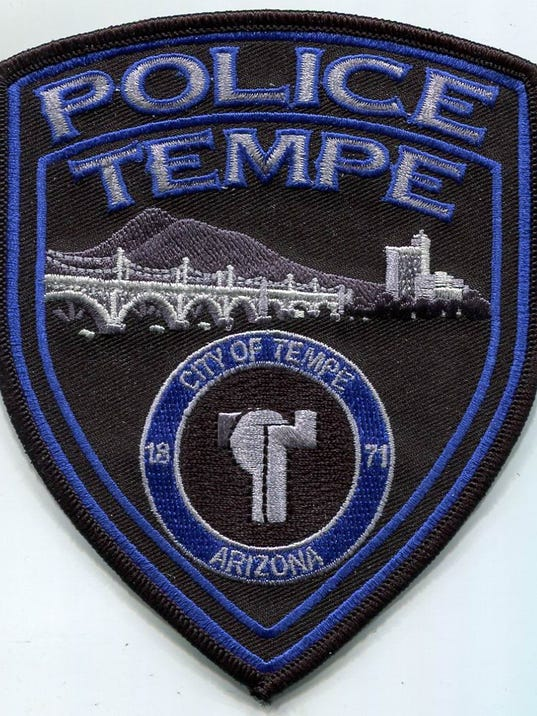 Tempe police badge