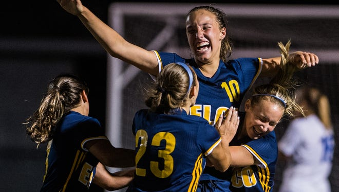 The Elco girls soccer team had a lot to celebrate this season on the way to a third straight Lancaster-Lebanon Section 3 title.