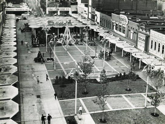 Market Square is pictured Dec. 23, 1962.