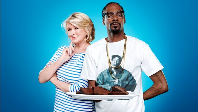 Martha Stewart and Snoop Dog team up for a second season of 'Martha & Snoop's Potluck Dinner Party.'