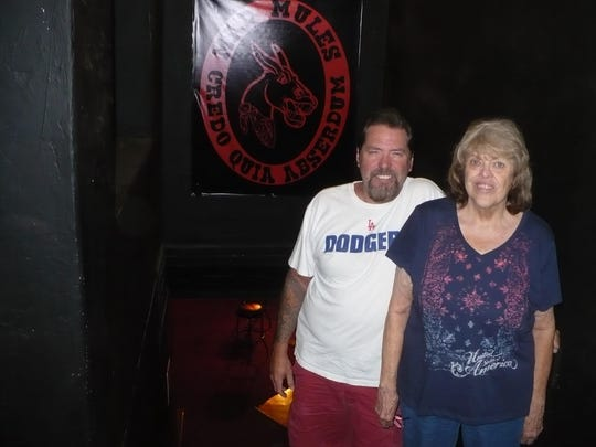 Jeff Hathcock, left, and Janet Hayre, will move their bar to 1742 E. Tulare Ave., Tulare.
