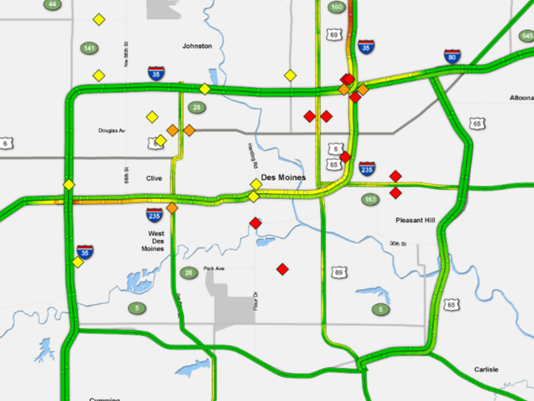 Roundup Of Traffic Issues In Metro Des Moines