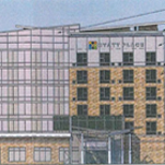 This seven-story Hyatt Place hotel was approved by the City Council for Rockwood Road in South Asheville.