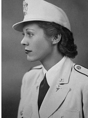 Mildred Klineyoung in uniform