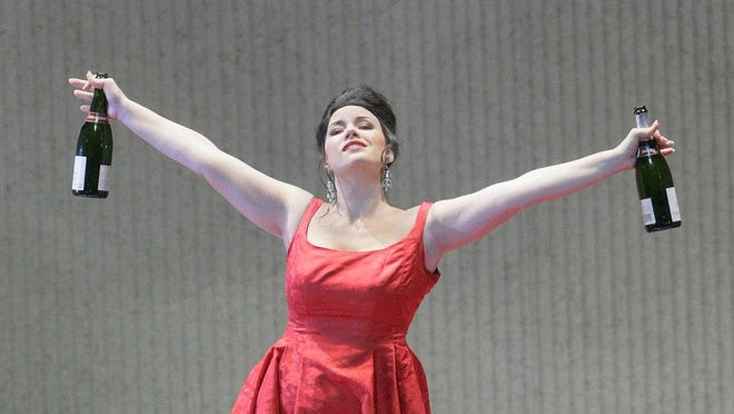 "Soprano Sonya Yoncheva brings her acclaimed interpretation of the doomed courtesan Violetta Valéry when the Metropolitan Opera in Manhattan broadcasts its production of Verdi's classic ""La traviatta"" live at 12:55 p.m. Saturday at The Movies at Governor's Square. It runs 175 minutes and is subtitled. Tickets are $25.80, $23.65 and $19.35. Visit www.fandango.com."