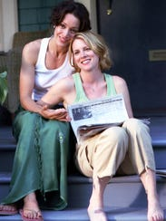 Jennifer Beals as Bette and Laurel Holloman as Tina