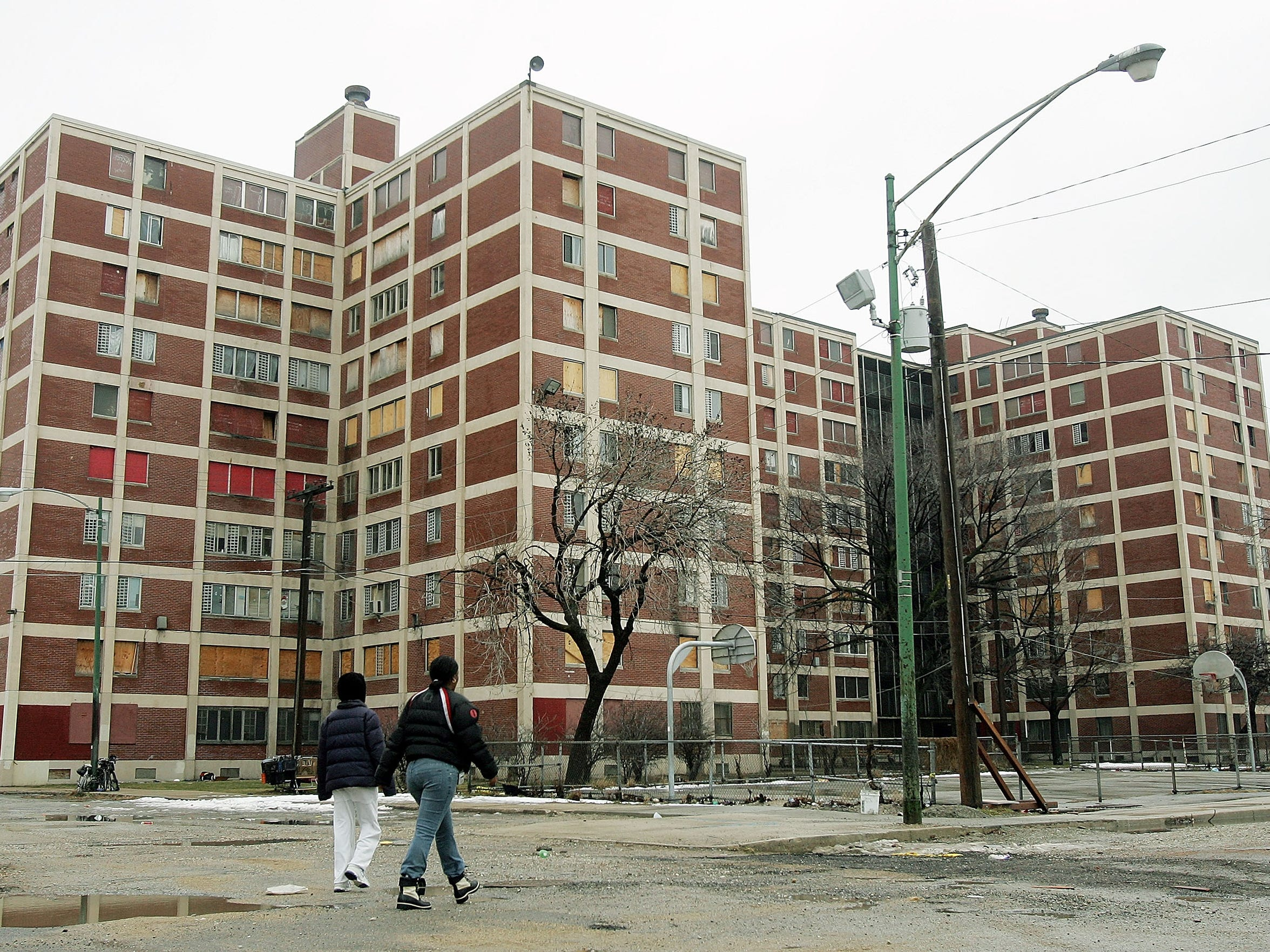 Part of the Chicago Housing Authority's Cabrini-Green