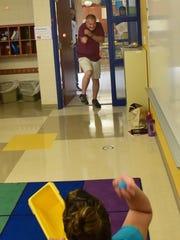 Head teacher Bill Bowen, Fayetteville Elementary School,