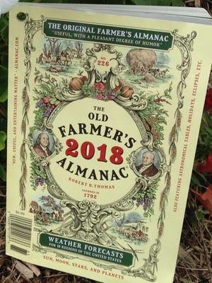 "The 2018 edition of ""The Old Farmer's Almanac"""