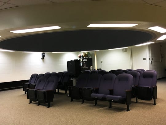 The newly renovated Piscataway High School Planetarium