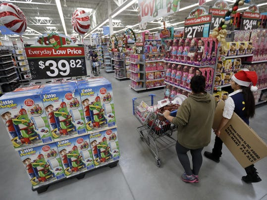 Walmart-Holiday Hours