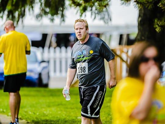 LSJ sports columnist Graham Couch catches his breath