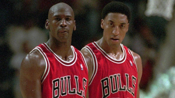 Michael Jordan came back to the Bulls in 1995, when