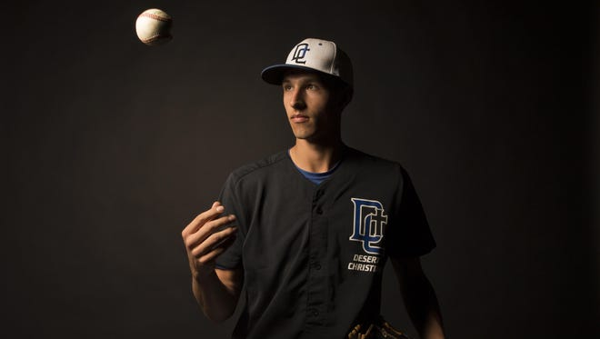 Desert Christian senior Zach Malis is azcentral sports' 2015 baseball Small Schools Player of the Year.