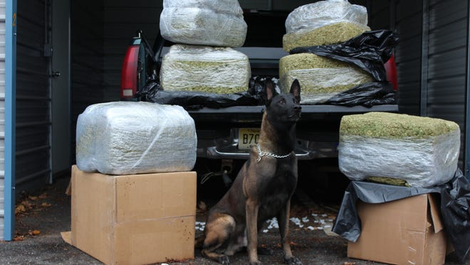 The drugs had a street value of more than $500,000 and were kept at a local storage locker to eventually be sold in Camden, authorities said.