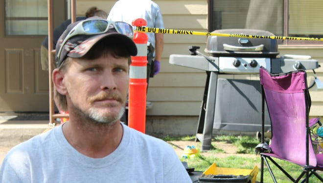 Parkdale resident Mark Smith was shot at by a neighbor angry over a parking space