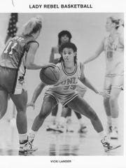 Former Bosse and UNLV standout Vicki Lander will be inducted into the Indiana Basketball Hall of Fame Saturday