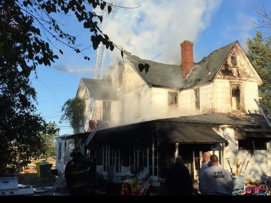 Brook Road house fire