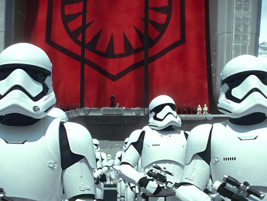Delaware native David Acord is the voice of a stormtrooper