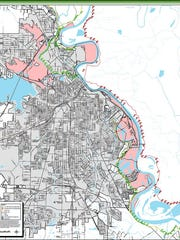 The proposed Red River Special Flood Hazard Area