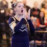 Susquehanna Valley varsity compete Sunday at the STAC Cheerleading Championships at Union-Endicott High School.