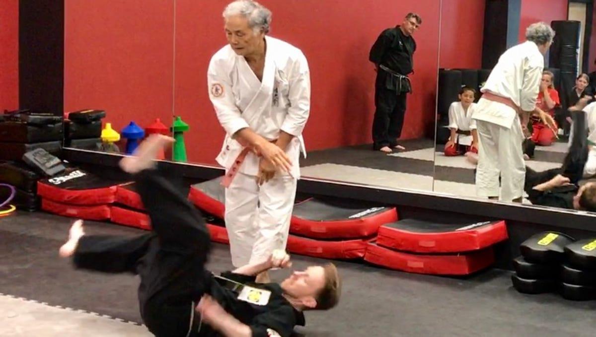 Deadliest Martial Artist Visits Rockaway Dojo