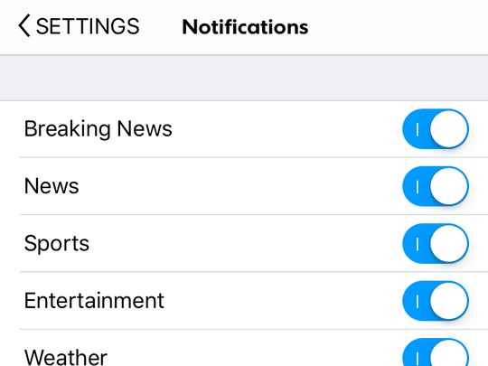 Sign up for our Push notifications.