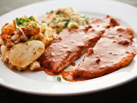 Paprika Schnitzel from Haus Murphy's in Glendale.