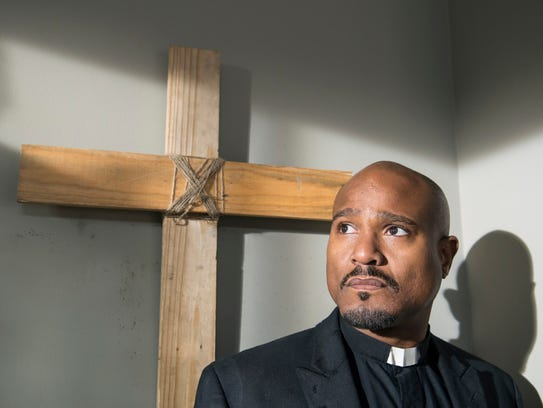"Seth Gilliam as Father Gabriel in ""The Walking Dead."""