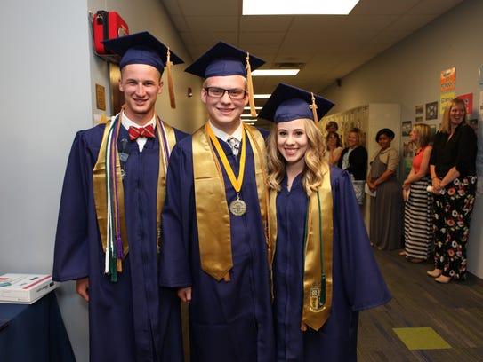 Providence Christian Academy graduation.