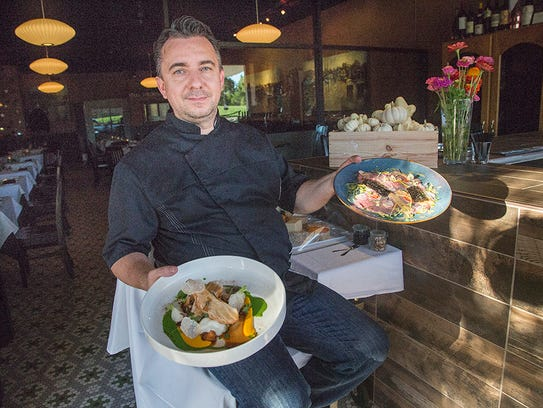 Chef David Baruthio at Baru 66 in Des Moines, Iowa,