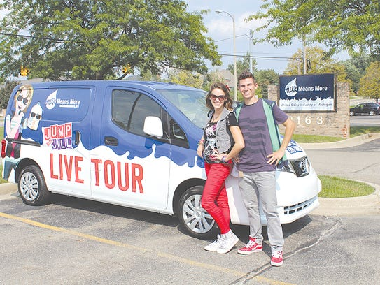 The live tour recently got a new, jazzed up tour van.