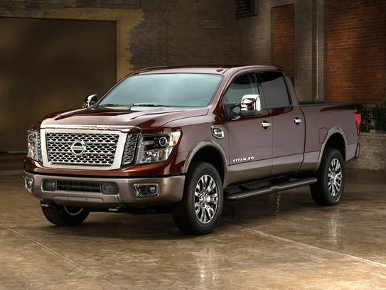 Nissan Titan XD Diesel – Nissan teamed up with Indiana